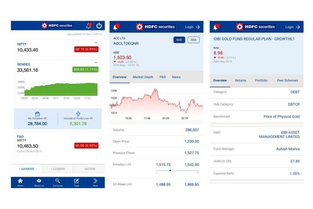 HDFC Securities App   Review   Nifty Brokers