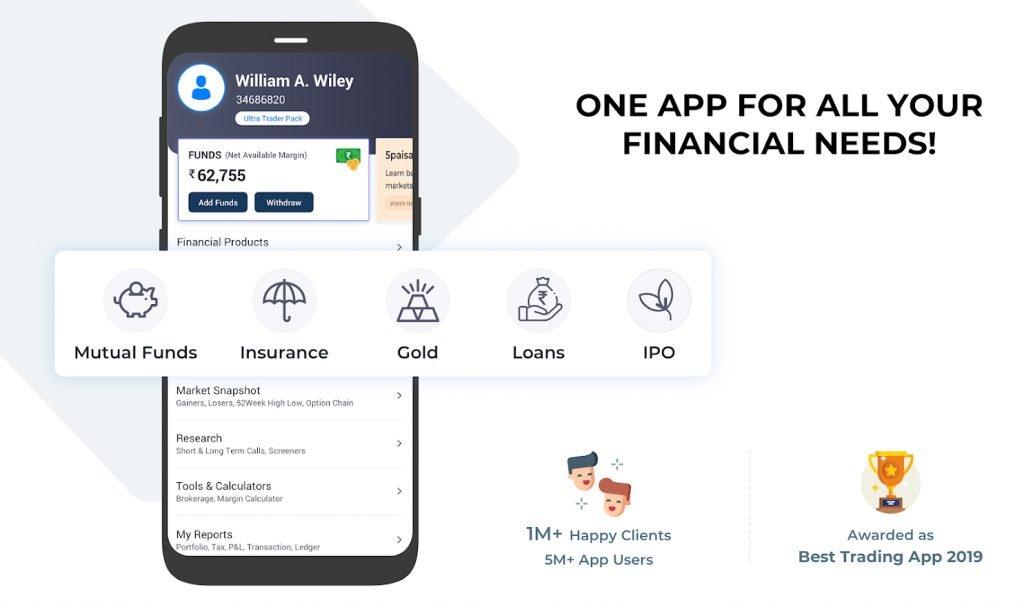 5Paisa Review | 5Paisa App