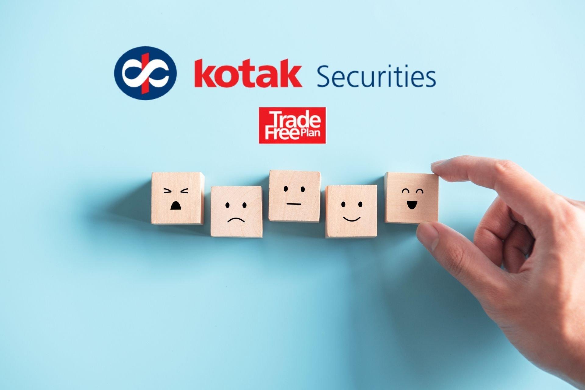 Kotak Securities Trade Free Plan Review