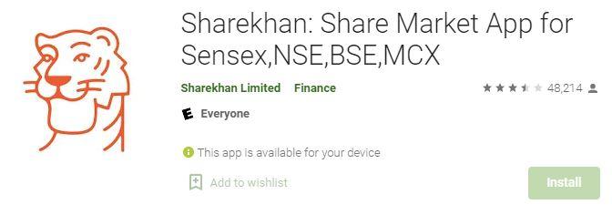 Sharekhan app play store | Best Stock Trading Apps for Beginners