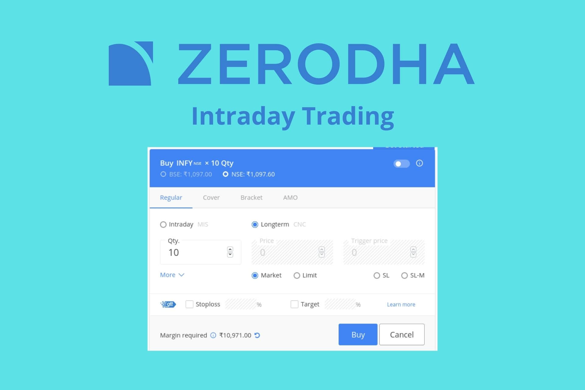 How to do Zerodha Intraday Trading – Process, Tips, Charges, Calculator & more
