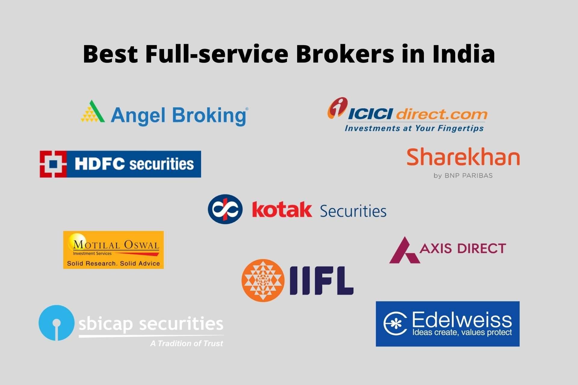 Top 10 Best Full-Service Brokers in India 2021!